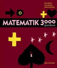 Matematik 3000 för grundläggande vuxenutbildning Del 1