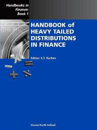 Handbook of Heavy Tailed Distributions in Finance