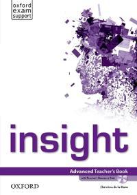 insight: Advanced: Teacher's Book and Teacher's Resource Disc Pack