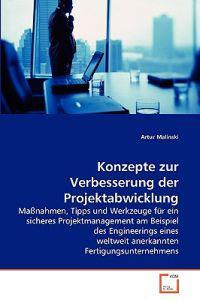 Konzepte Zur Verbesserung Der Projektabwicklung