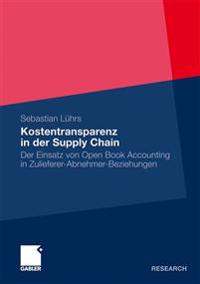 Kostentransparenz in Der Supply Chain