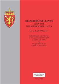 Helsepersonelloven (lov om helsepersonell m.v.) -  pdf epub