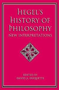 Hegel's History of Philosophy