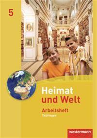 Heimat und Welt 5. Arbeitsheft. Thüringen