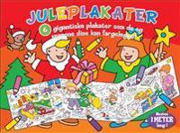 Juleplakater. 6 gigantiske plakater som du og vennene dine kan fargelegge!