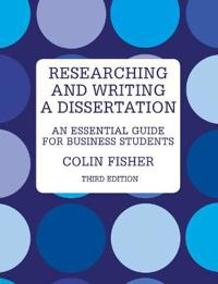 Researching & Writing a Dissertation
