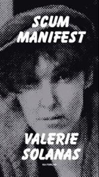 SCUM manifest - Valerie Solanas pdf epub