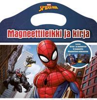Spider-man : magneettileikki ja kirja