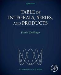Table of Integrals, Series, and Products