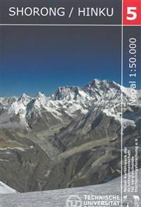 Nelles Map Khumbu Himal Trekking-Karte 1 : 50 000