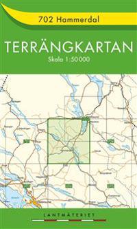 702 Hammerdal Terrängkartan : 1:50000 -  pdf epub