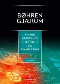 Finans - Øyvind Bøhren, Per Ivar Gjærum pdf epub