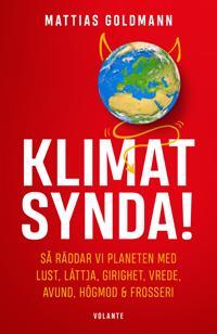Omslaget av Klimatsynda! av Mattias Goldmann