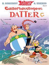 Asterix; Gallerhøvdingens datter - Jean-Yves Ferri   Ridgeroadrun.org