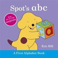 Spot's ABC  A First Alphabet Book - Eric Hill - böcker (9780723268956)     Bokhandel