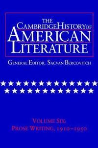 Cambridge History of American Literature
