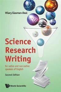 Science Research Writing: For Native And Non-native Speakers Of English