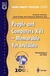 People and Computers XVI
