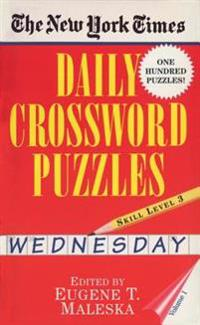 New York Times Daily Crossword Puzzles (Wednesday),