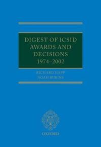 Digest of Icsid Awards and Decisions