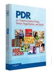 PDR for Nonprescription Drugs, Dietary Supplements, and Herbs 2008