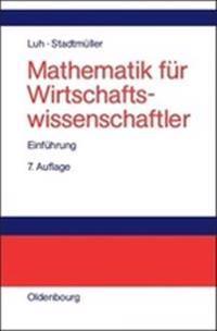 Mathematik Fur Wirtschaftswissenschaftler
