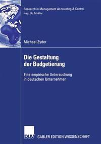 Die Gestaltung Der Budgetierung