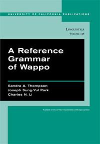 A Reference Grammar of Wappo