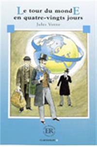 Easy Readers Le tour du monde en 80 jours nivå B - Easy Readers