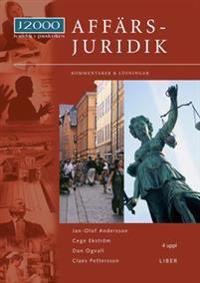 J2000 Affärsjuridik, Kommentarer och lösningar