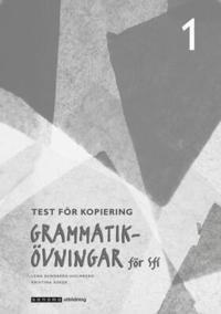 Grammatikövningar för sfi. D. 1, Test för kopiering