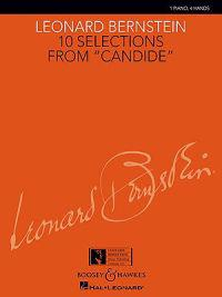 "10 Selections from ""Candide"": 1 Piano, 4 Hands"