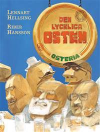 Den lyckliga osten   osteria - Lennart Hellsing - böcker (9789129654288)     Bokhandel
