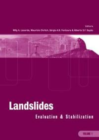 Landslides: Evaluation and Stabilization/Glissement de Terrain: Evaluation et Stabilisation, Set of 2 Volumes