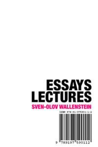 Essays, lectures