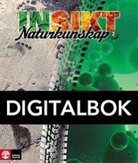 Insikt Naturkunskap 2 Lärobok Digital
