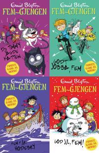 Fem-gjengen illustrerte bøker - Enid Blyton | Inprintwriters.org