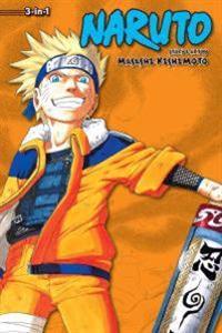 Naruto (3-in-1 Edition), Vol. 4