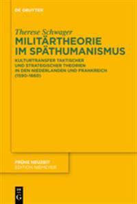 Militartheorie Im Spathumanismus