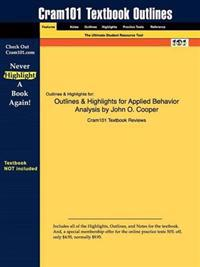 Outlines & Highlights for Applied Behavior Analysis