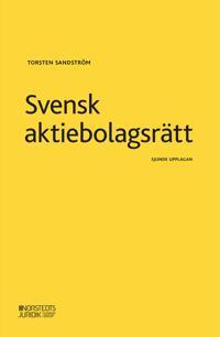 Svensk aktiebolagsrätt - Torsten Sandström pdf epub