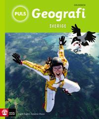 PULS Geografi 4-6 Sverige Grundbok, tredje upplagan