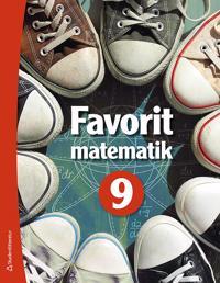 Favorit matematik 9 Elevpaket Digitalt + Tryckt Martti