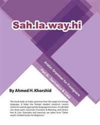 Sahlawayhi Arabic Grammar for Foreigners Part III: Derivation & Case