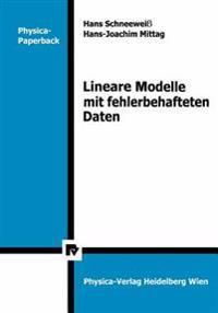 Lineare Modelle Mit Fehler-Behafteten Daten