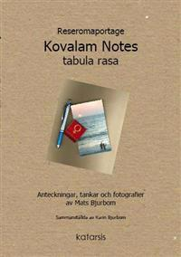 Reseromaportage Kovalam Notes tabula rasa