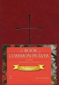 The Book of Common Prayer Imitation Leather Wine Color, Economy Edition