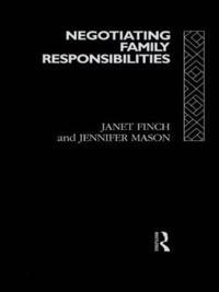 Negotiating Family Responsibilities