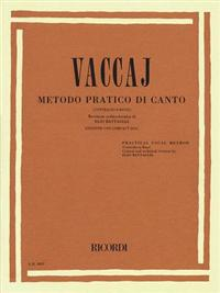Practical Vocal Method (Vaccai) - Low Voice: Alto/Bass - Book/CD