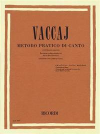 Practical Vocal Method (Vaccai) - Low Voice: Alto/Bass - Book/CD
